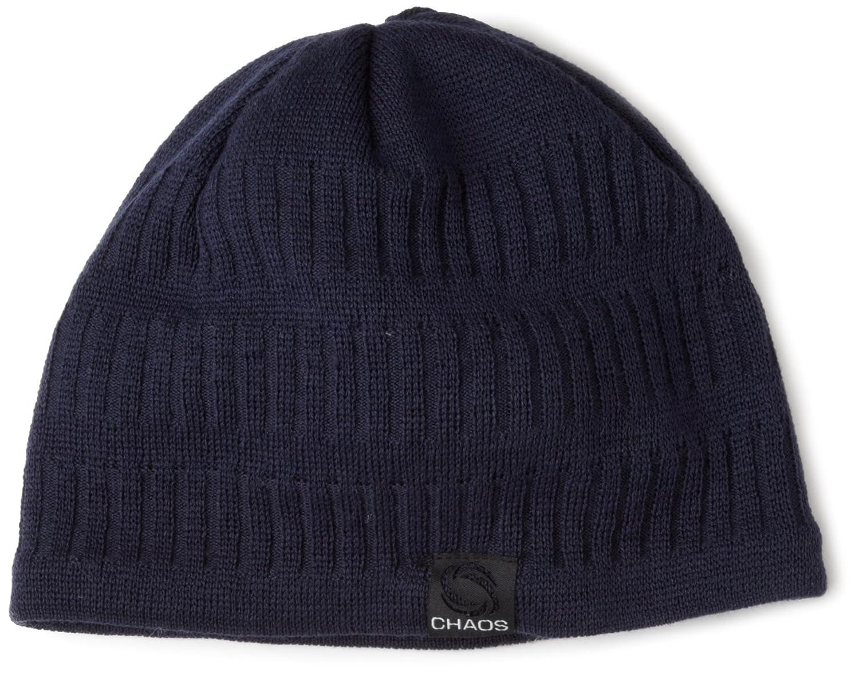 9a7da6fe32d Amazon.com  Chaos Hats Men s Baton Wool Blend Beanie  Sports   Outdoors
