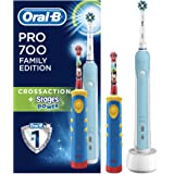 Braun Oral-B Family Edition Mickey avec Oral-B Pro 700 + Stages Power Mickey Mouse