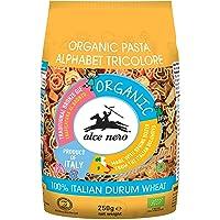 Alce Nero Organic Tricolore Alphabet Pasta | Kids Favourite | Authentic Italian Pasta Taste & Texture | Made Italian…