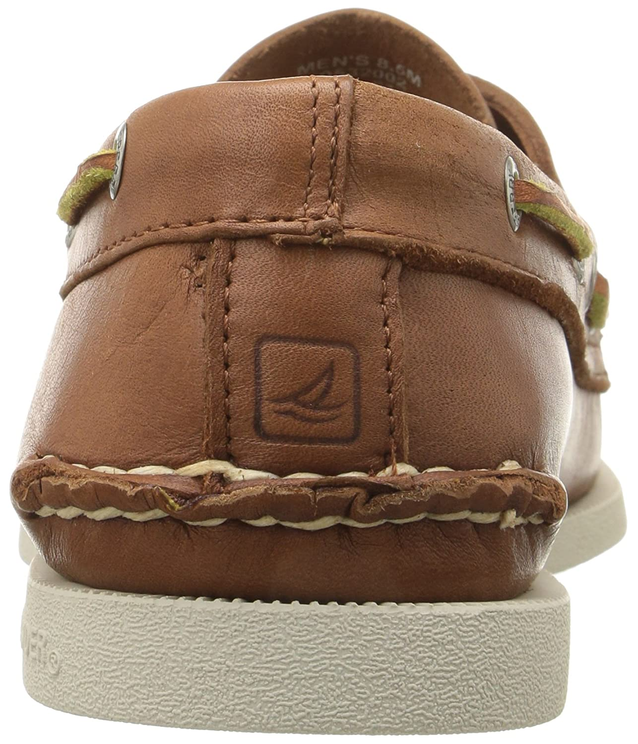 Sperry Top-Sider Herren A/O 2-Eye (Tan) Leder Bootsschuh Braun (Tan) 2-Eye 579402