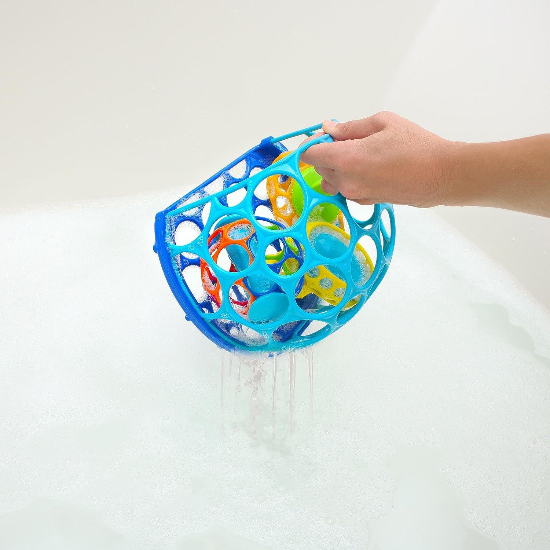 Color Azul Verde geom/étrico Oball-O- Cesta Ba/ño Juguete KidsII 10067