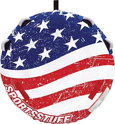 Sportsstuff Stars Stripes 1-3 Rider Towable Tube for Boating