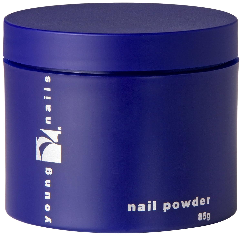 Young Nails Clear False Nail Powder, 85 Gram