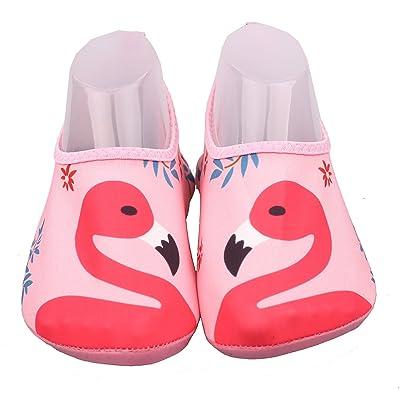 ABClothing Enfants Chaussures de Sports Nautiques Barefoot Quick-Dry Aqua Yoga Chaussettes Slip-on 7 Modèles