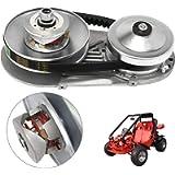 Mophorn 212CC Torque Converter Kit Go Kart 30 Series 6.5 HP Mini Bike Comet Clutch Set 3/4 Inch 10T #40 or 41 Chain…