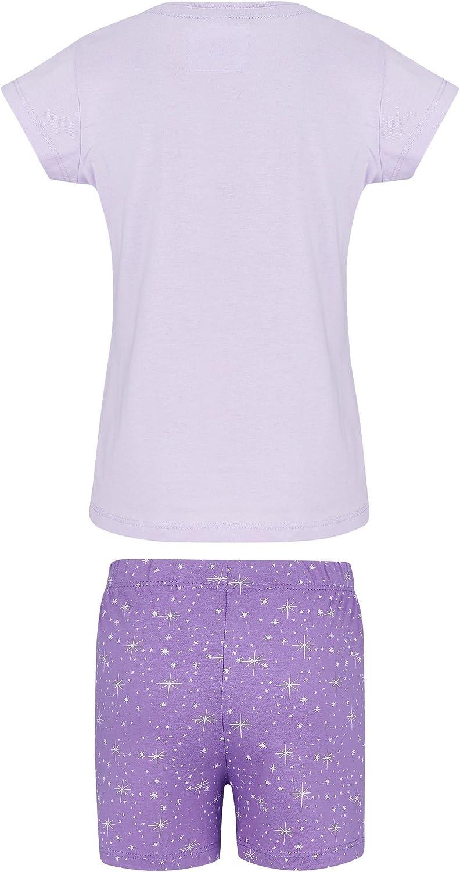 Spring Summer Collection Shimmer And Shine Heart Sparkle Short Sleeve Pyjama Set