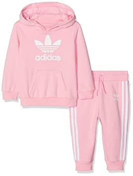 6a27ef05a adidas Children s Trefoil Hoodie Kids  Amazon.co.uk  Sports   Outdoors