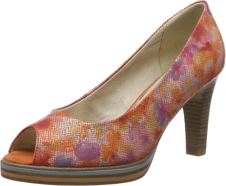 Marco Tozzi Premio 29300, Zapatos de Punta Descubierta para Mujer