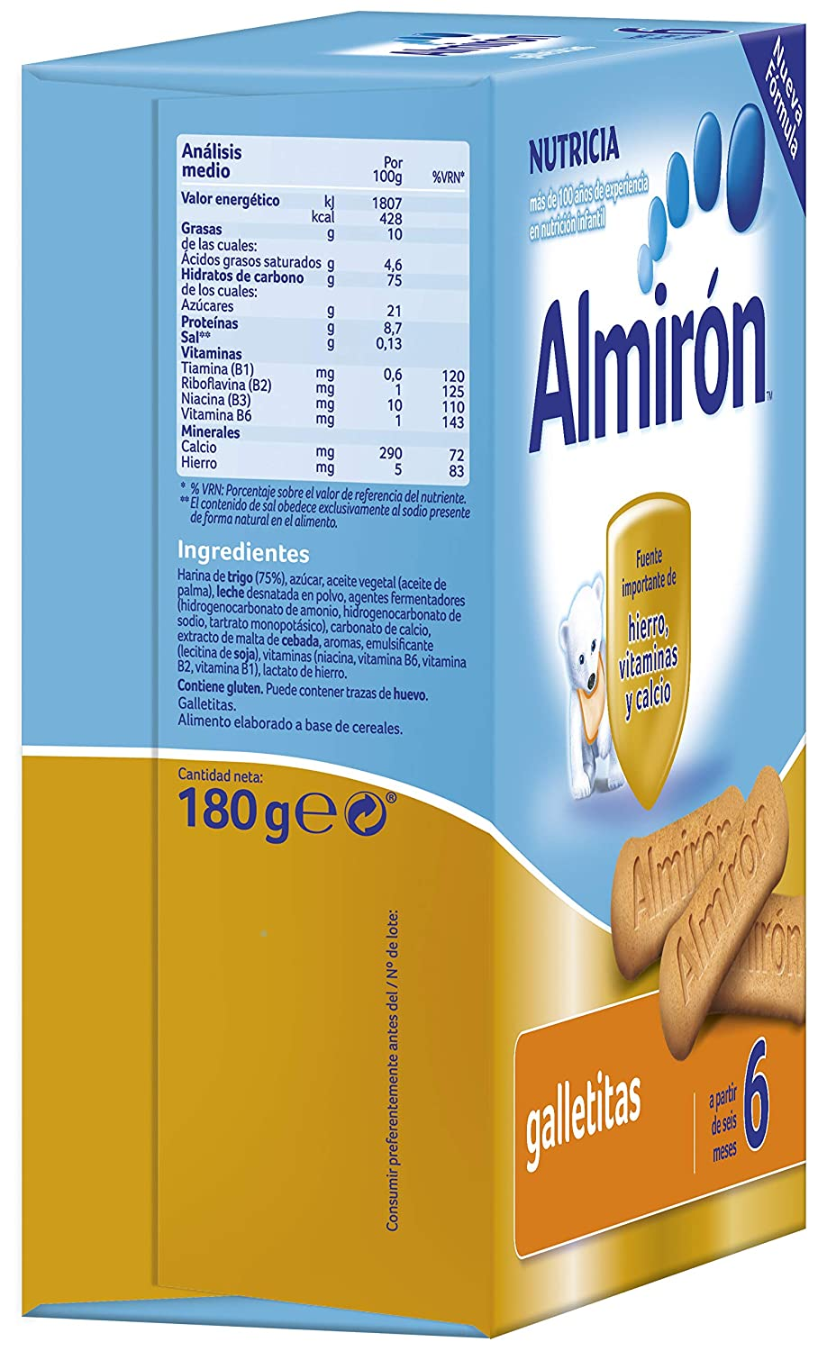 Almirón Galletitas 180 g