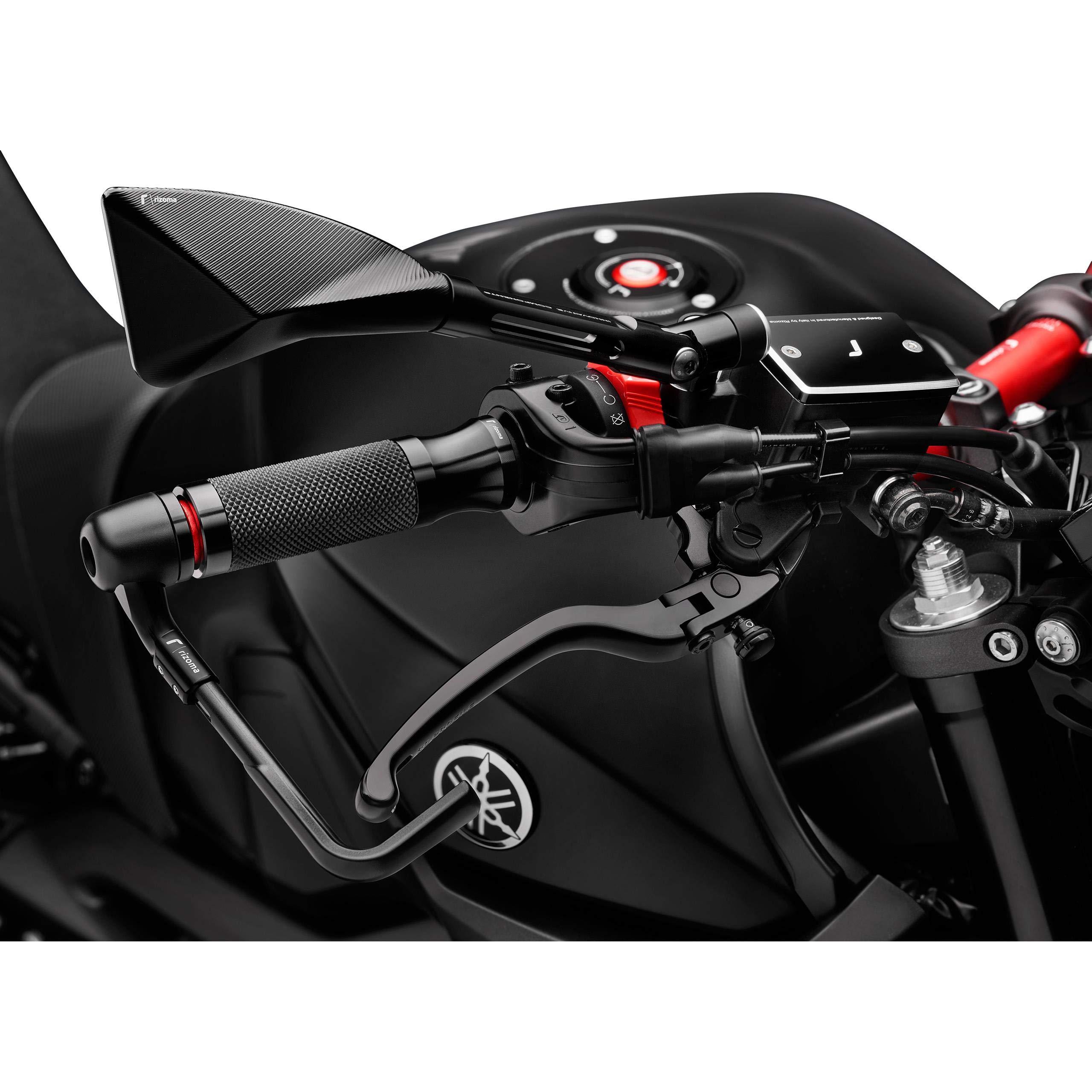 RIZOMA GR205B Sportline Billet Aluminum Universal Grips (BLACK)