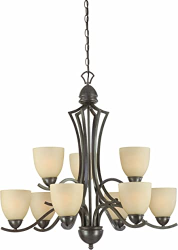 Thomas Lighting SL808322 Triton Collection 9 Light Chandelier