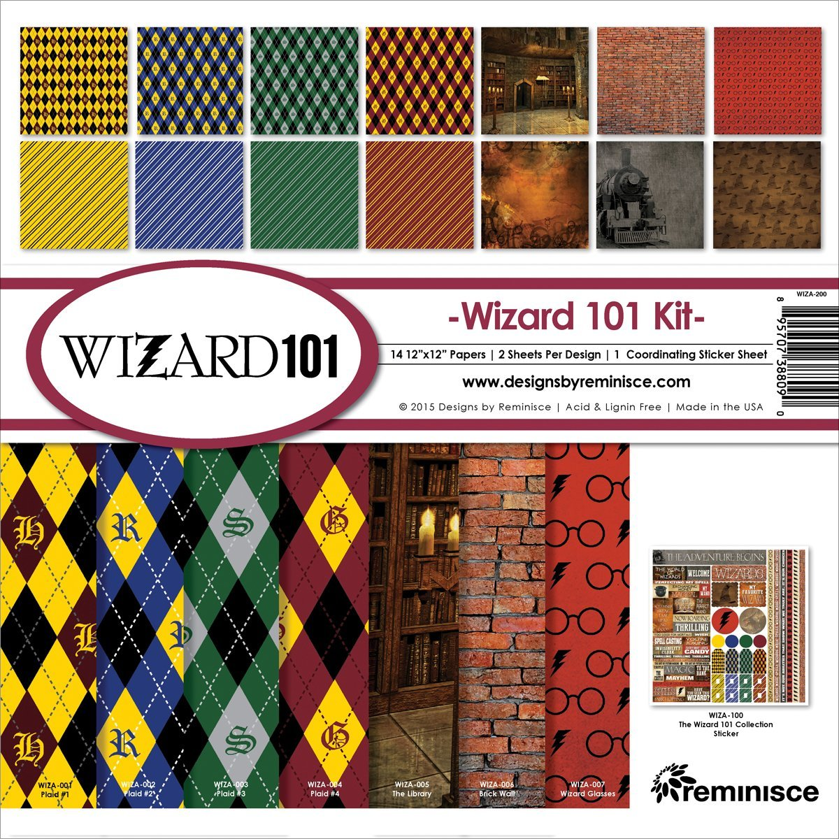 Reminisce Wizard 101 Collection Kit by Reminisce