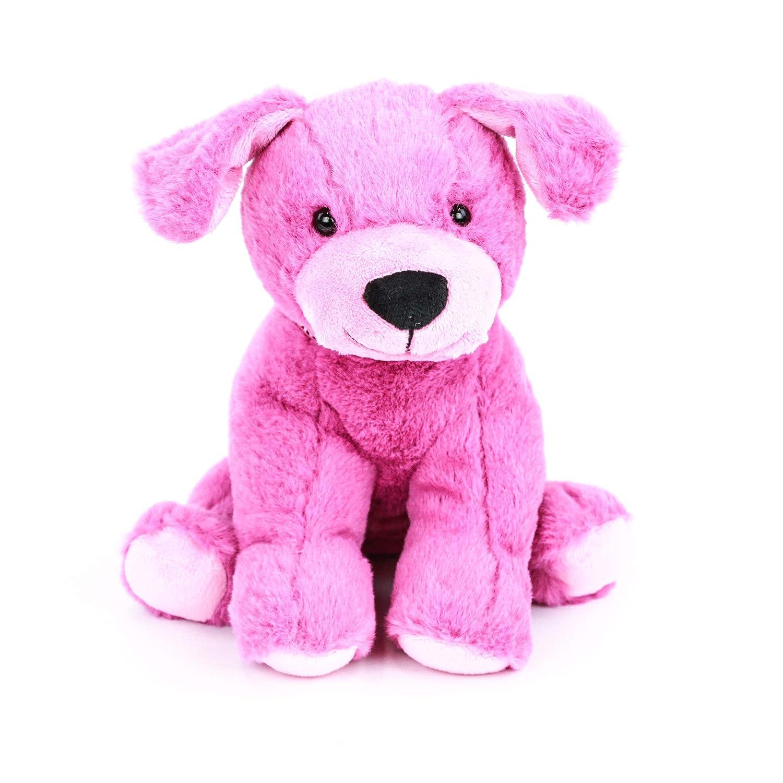 Amazon Com Gitzy 8 Pink Puppy Stuffed Animal Plush Toy Super Soft
