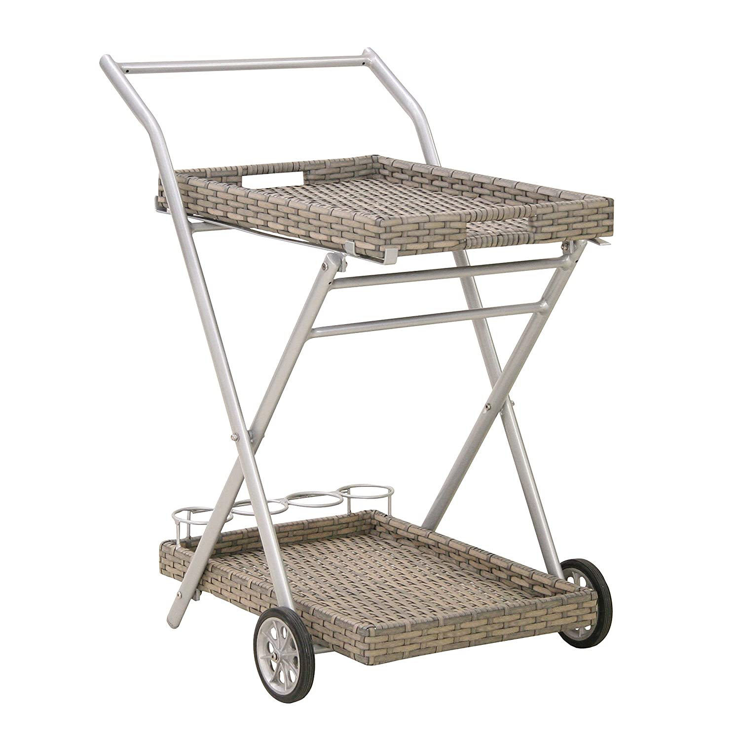 greemotion 427540 Serving Trolley – Grey
