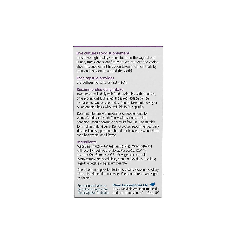 OptiBac Probiotics - For women (30 Capsules)