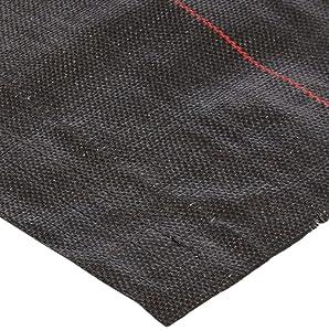Mutual WF200 Polyethylene Woven Geotextile Fabric, 300' Length x 6' Width