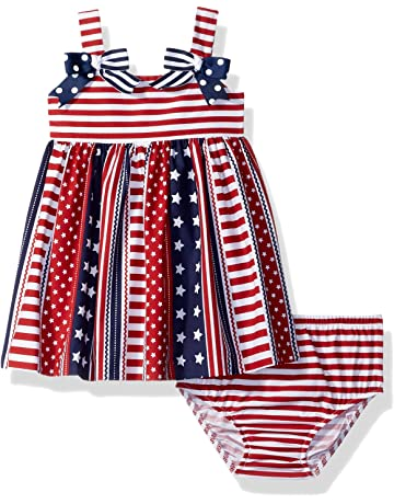 1df4e47093a Bonnie Baby Baby Girls Americana Dress