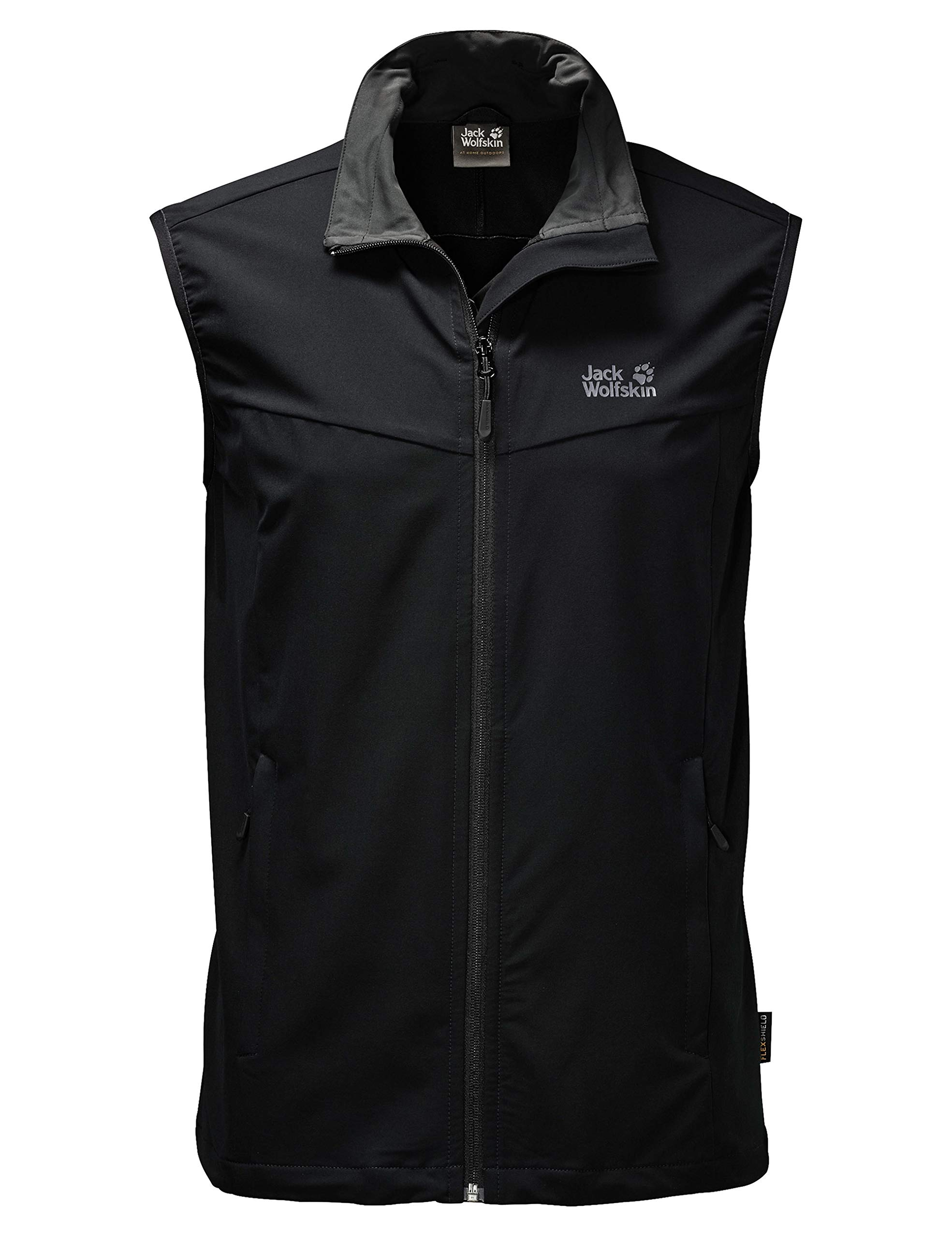 Jack Wolfskin Men's Activate Vest, Black, 3X-Large by Jack Wolfskin