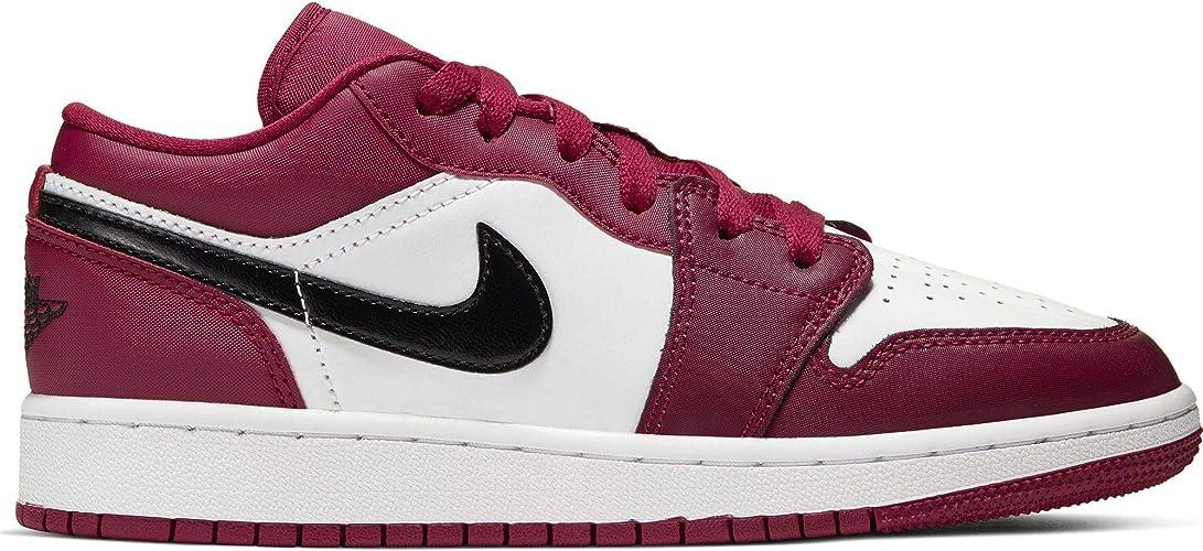 Nike Air Jordan 1 Low (GS), Scarpe da Ginnastica Basse