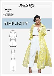 SIMPLICITY CREATIVE CORP Simplicity Pattern 6-8-10-12, Various