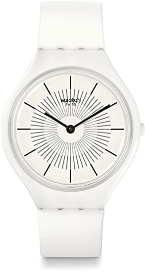 dce5d1928195 Swatch Reloj Digital para Unisex de Cuarzo con Correa en Silicona SVOW100