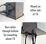 Dot Genie Easy Hanging Fire TV Cube Wall