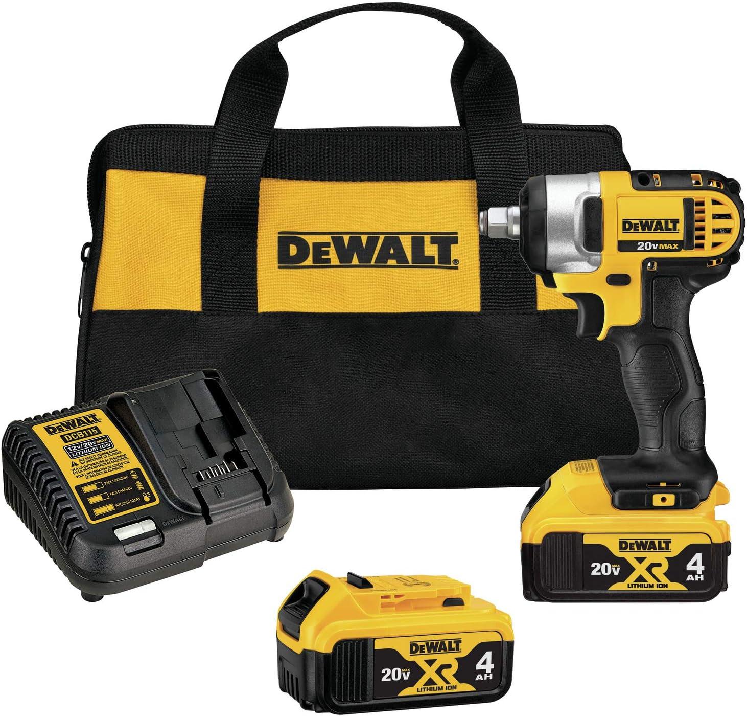 DEWALT DCF880HM2 Cordless 1/2″ Impact Wrench