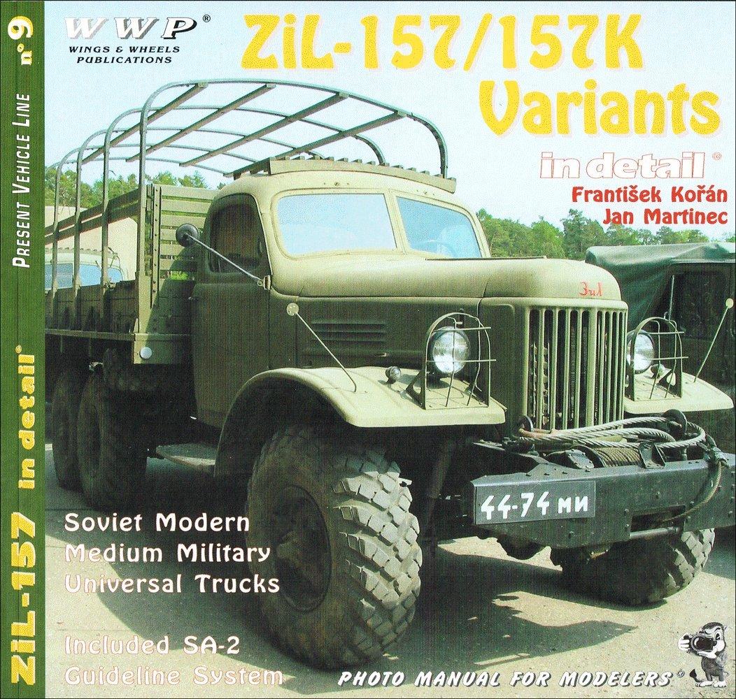 zil-157/157k variants in detail