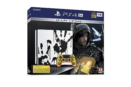 Sony Pro Death Stranding Consola PS4 Edición Limitada: Sony ...