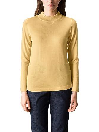 Walbusch Damen Merino Mix Stehbund-Pullover, einfarbig  Walbusch  Amazon.de   Bekleidung 19788a8b83