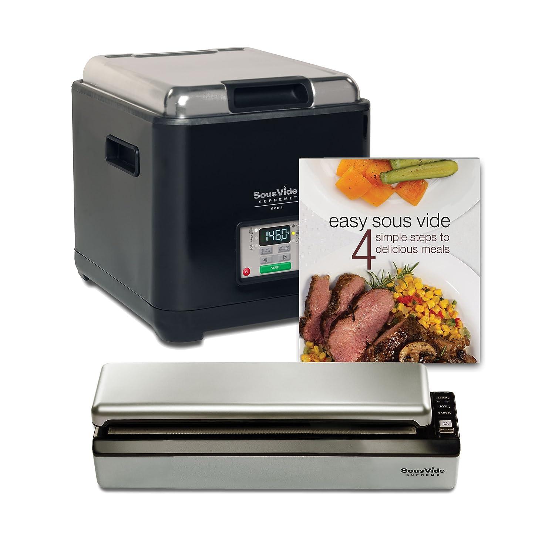 SousVide Supreme Demi Water Oven System, 9-Liter, Black, PSV-00180