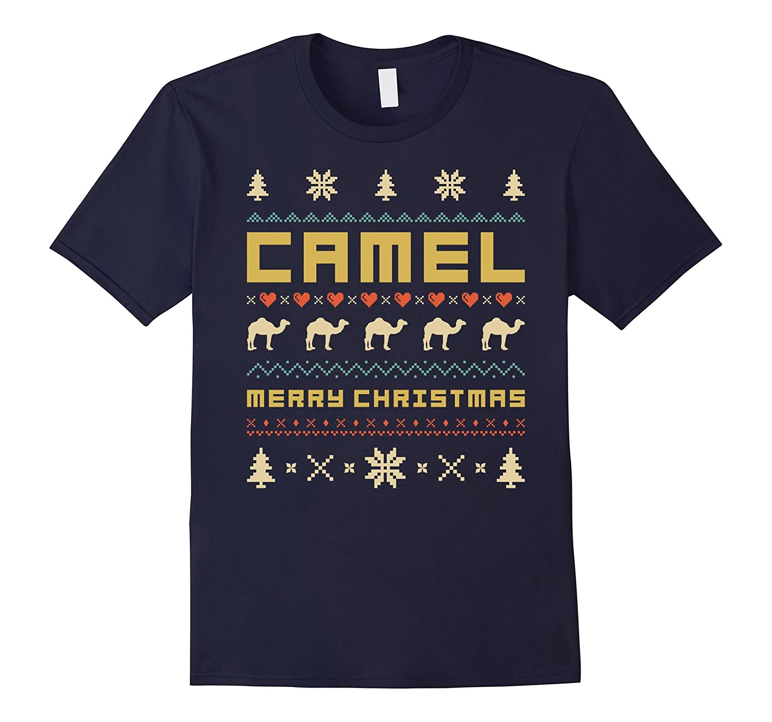 CAMEL Ugly Christmas Sweater T-Shirt Vintage Retro Style-ANZ
