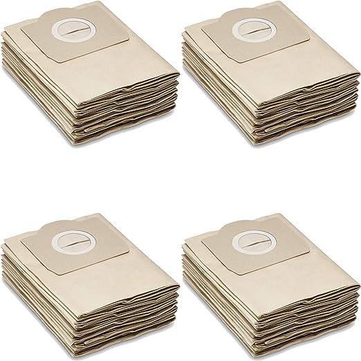 20 Bolsas de papel para aspiradoras Kärcher seco/húmedo: A2204 ...