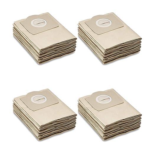 20 Bolsas de papel para aspiradoras Kärcher seco/húmedo ...