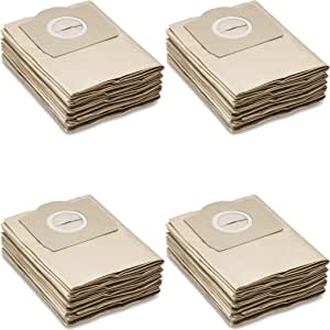 20 Bolsas de papel para aspiradoras Kärcher seco/húmedo: A2204, a2054, WD3, MV3, se4100 – Quality Tested by One. en Alemania.: Amazon.es: Hogar