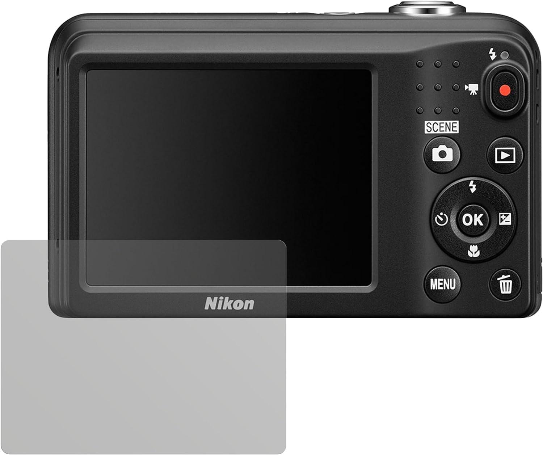 6x Nikon Coolpix AW120 Protector Pantalla Pelicula Protectora Transparente