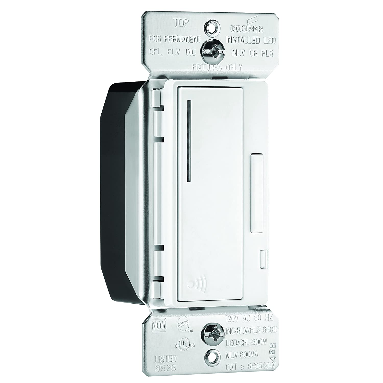Cooper Diagram Aspire Wiring 9534ws Library Devices Inc Eatons Rf9540 Ndw 600w All Load Rf Smart Dimmer System Master