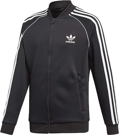 Satisfacer Comparable Merecer  Adidas Fleece SST Sudaderas sin capucha para Niño Negro, 8-9A: Amazon.es:  Ropa y accesorios