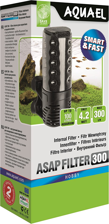 Aquael - Filtro ASAP para acuarios 300litros/Hora