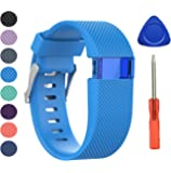 Newest Fitbit Charge HR Band, BeneStellar Silicone Replacement Small Large Band Bracelet Strap for Fitbit Charge HR Wireless Activity Wristband