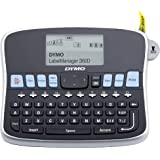 DYMO Desktop Label Maker | LabelManager 360D Rechargeable Hand-Held Label Maker, Easy-to-Use, One-Touch Smart Keys…