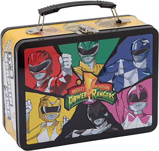 Vandor Power Rangers Large Tin Tote (27070)