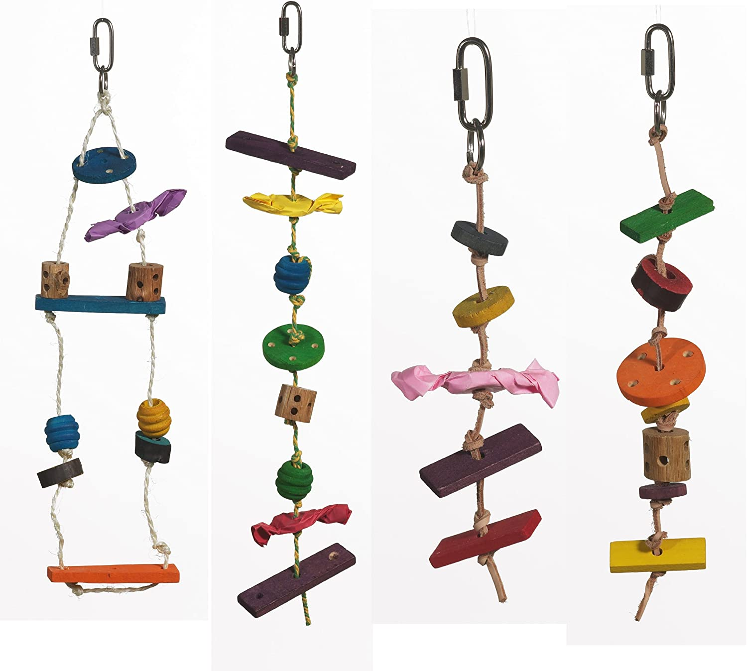 Living World Create Your Own Wooden Bird Toy Kit Small and Medium Birds