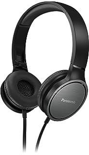 Panasonic RP-HF500ME Auriculares circumaural alámbrico, 9-26000 Hz, 25 Ohm,