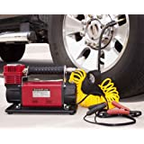 SuperFlow 12V HD Air Compressor Tire Inflator Ideal for Trucks, SUVs, RVs & Tractors