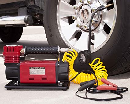 Amazon Com Superflow 12v Hd Air Compressor Tire Inflator Ideal For