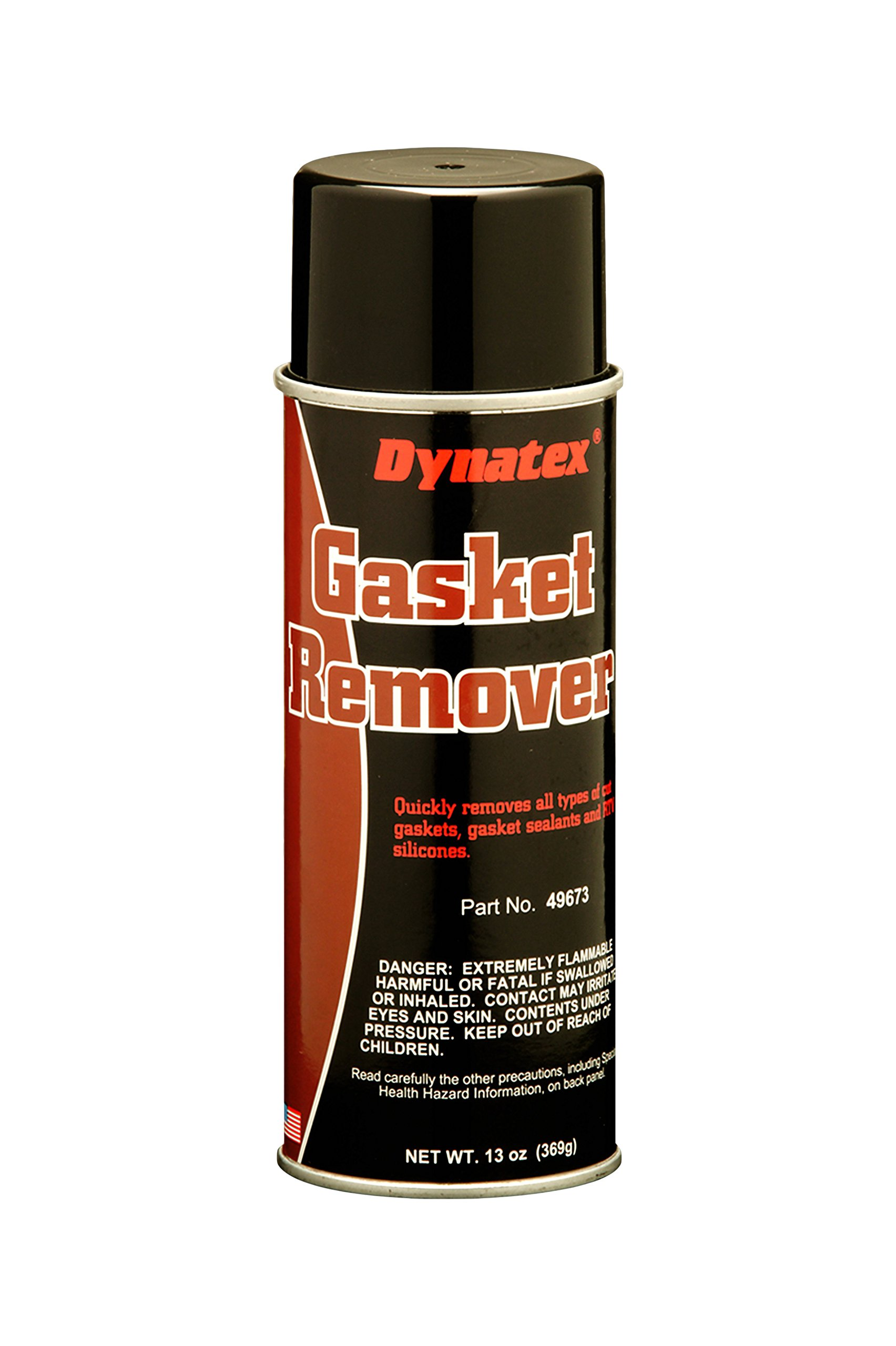 Dynatex 49673 Gasket Remover, 16 oz Aerosol Can, Clear (Pack of 12)