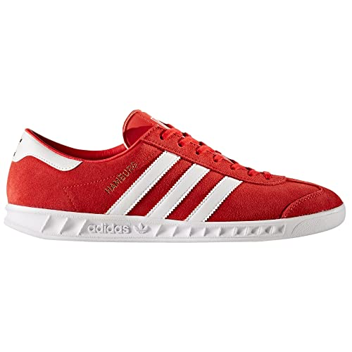Originals Adidas Uomo Rosso Hamburgo Sneaker By9757 Scarpe Amazon Tqqwgvd