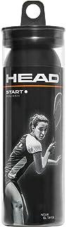 Head Start Balles de Squash Mixte 287346 Noir Taille Unique