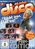 """40 Jahre disco """"Licht aus, Spot an!"""" (Die Fan-Edition) (+ exklusiver Bonus-CD) [3 DVDs]"""